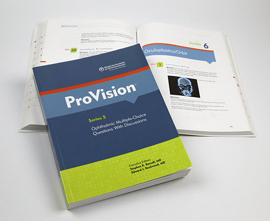 American Academy of Ophthalmology ProVision Series 5 Book